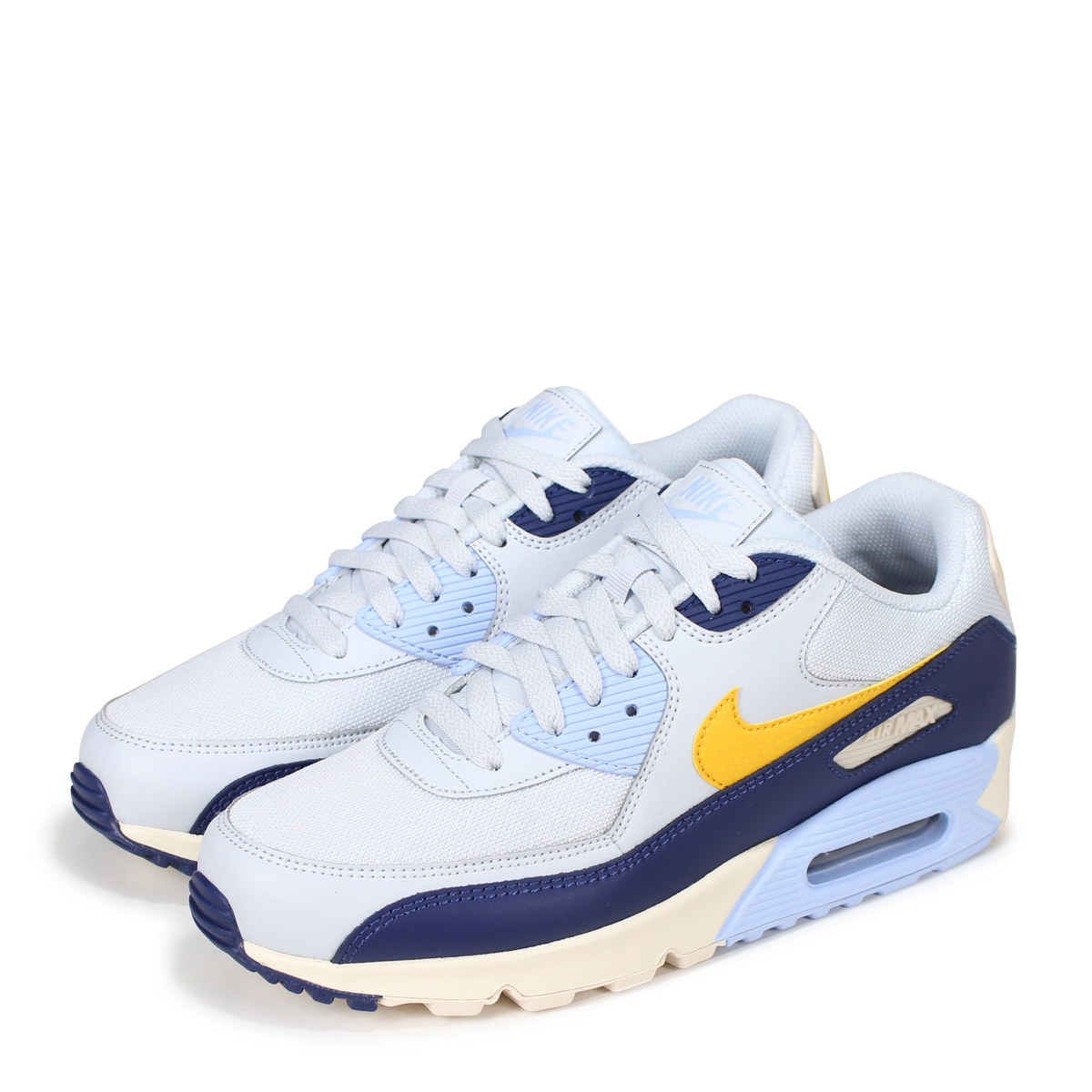 6a2034bc303c2 NIKE AIR MAX 90 ESSENTIAL Kie Ney AMAX 90 essential sneakers men AJ1285-008  blue  7 13 Shinnyu load   187