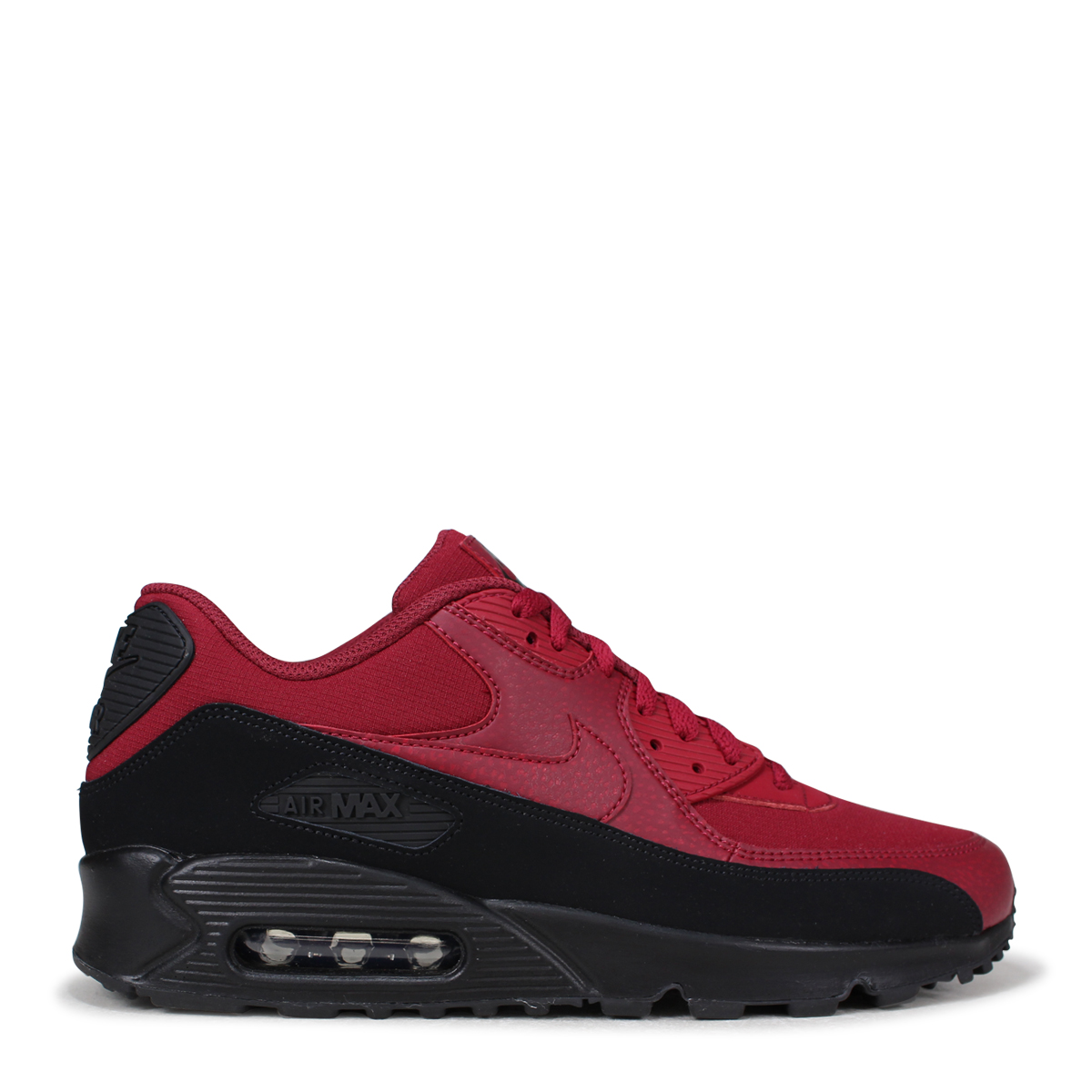 sports shoes 70159 4c1ab NIKE AIR MAX 90 ESSENTIAL Kie Ney AMAX 90 essential sneakers men AJ1285-010  red  7 13 Shinnyu load   187