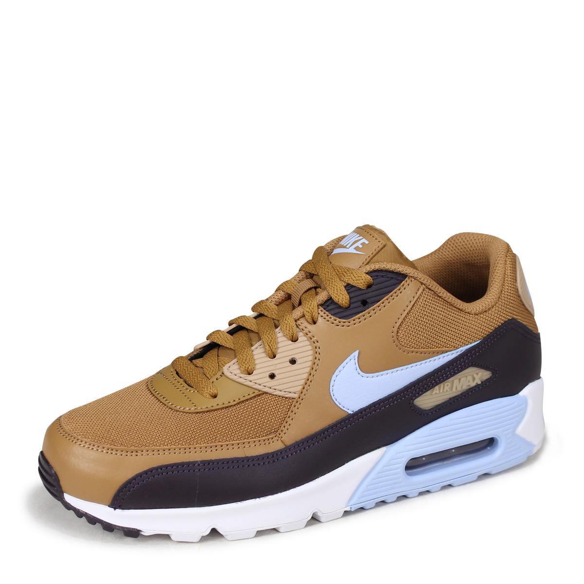 NIKE AIR MAX 90 ESSENTIAL Kie Ney AMAX 90 essential sneakers men AJ1285-202  brown  7 13 Shinnyu load   187  cd80f5ca6