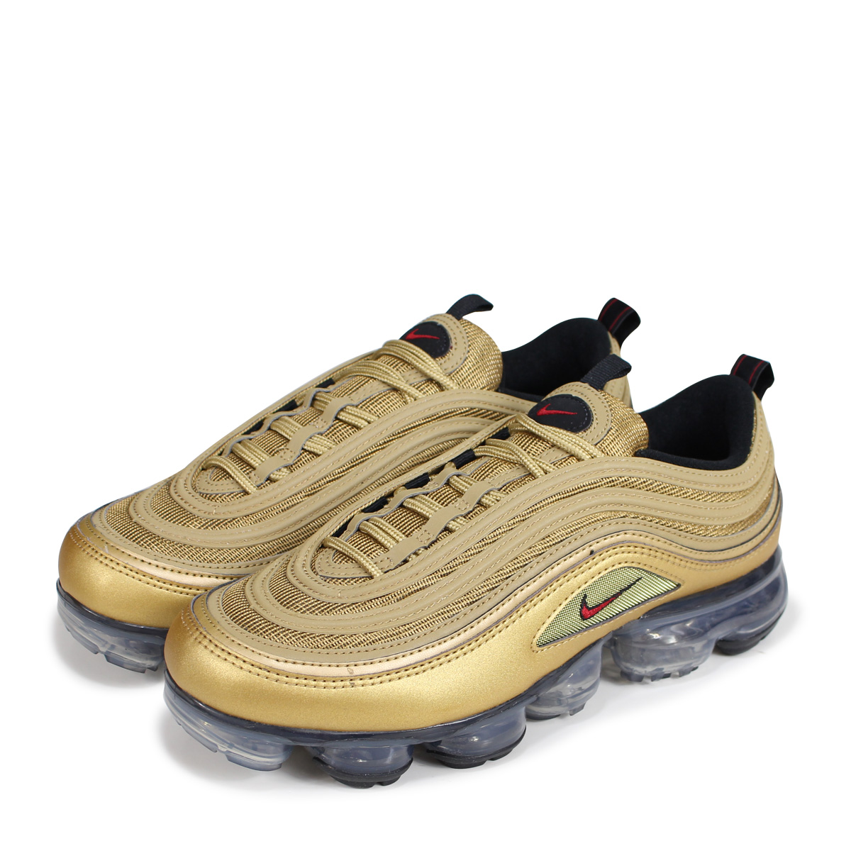 408e4d86e1 NIKE AIR VAPORMAX 97 Nike air vapor max 97 sneakers men AJ7291-700 gold ...