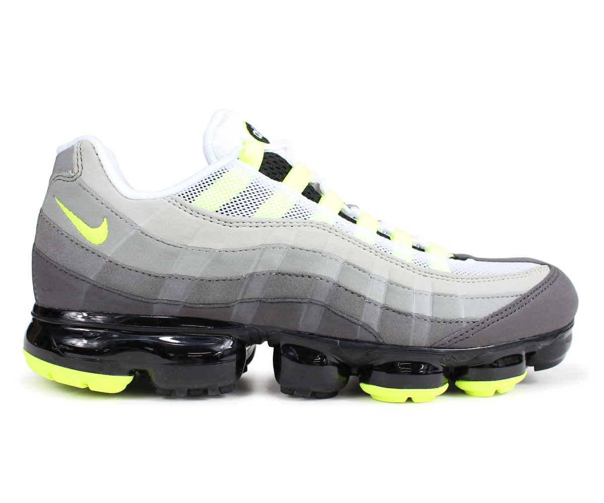 classic fit hot new products first look Nike NIKE air vapor max 95 sneakers men AIR VAPORMAX 95 NEON AJ7292-001  neon yellow [198]