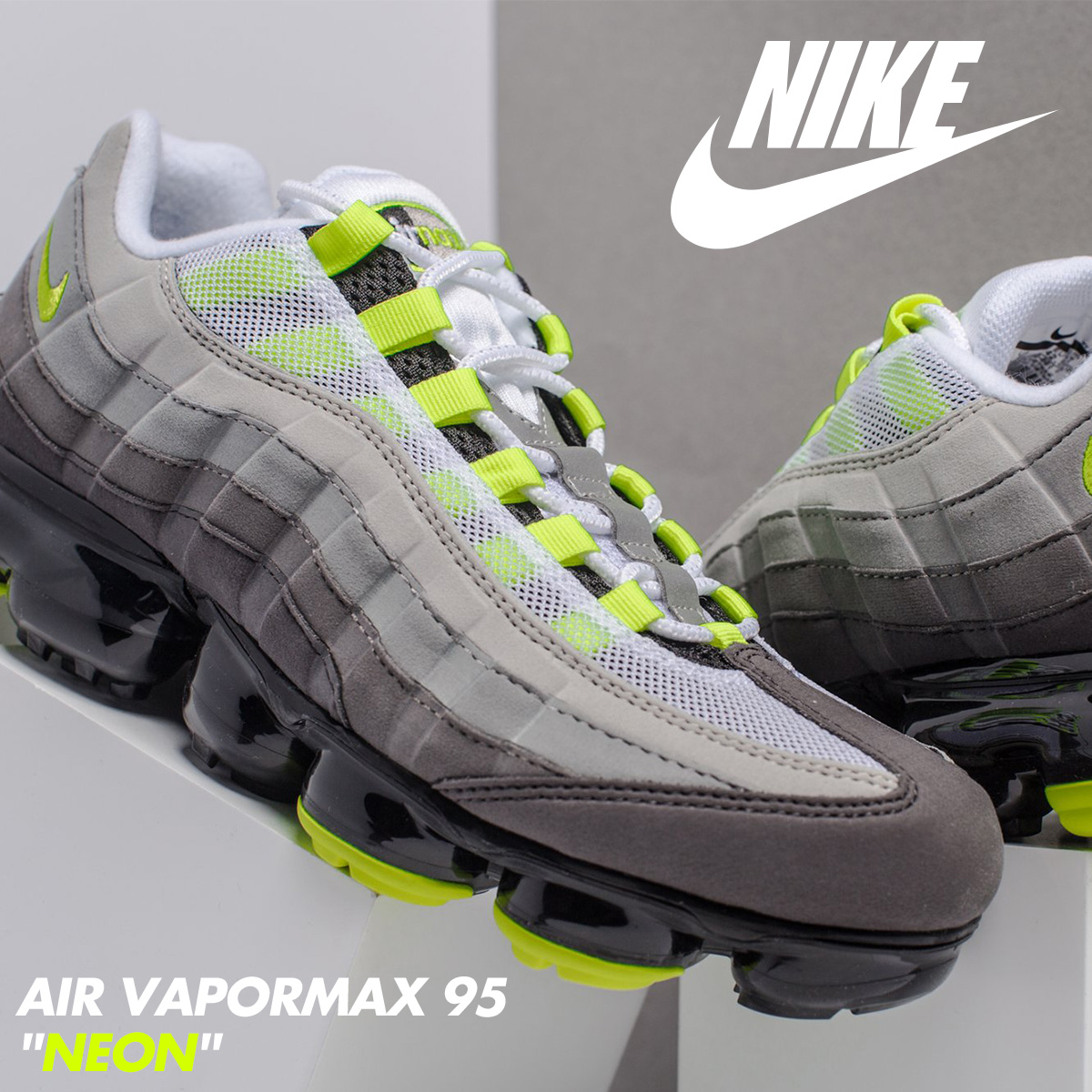 "Nike to launch Air VaporMax 95 ""Neon"""