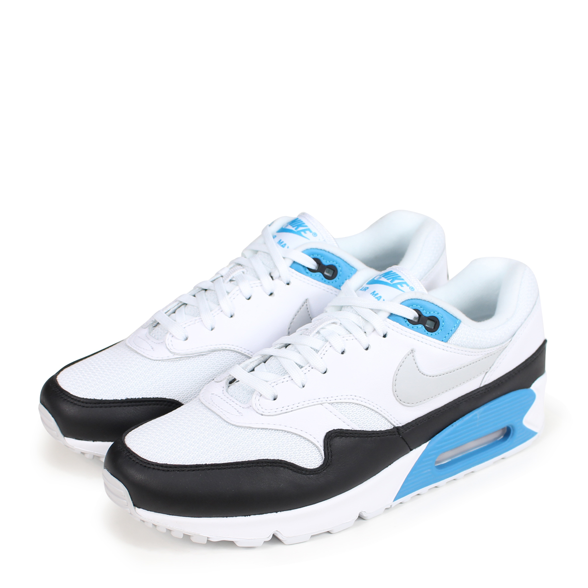 ALLSPORTS | Rakuten Global Market: NIKE AIR MAX 90/1 Kie Ney AMAX 90 1 sneakers men AJ7695-104 white [load planned Shinnyu load in reservation product 8/18 containing] [188]