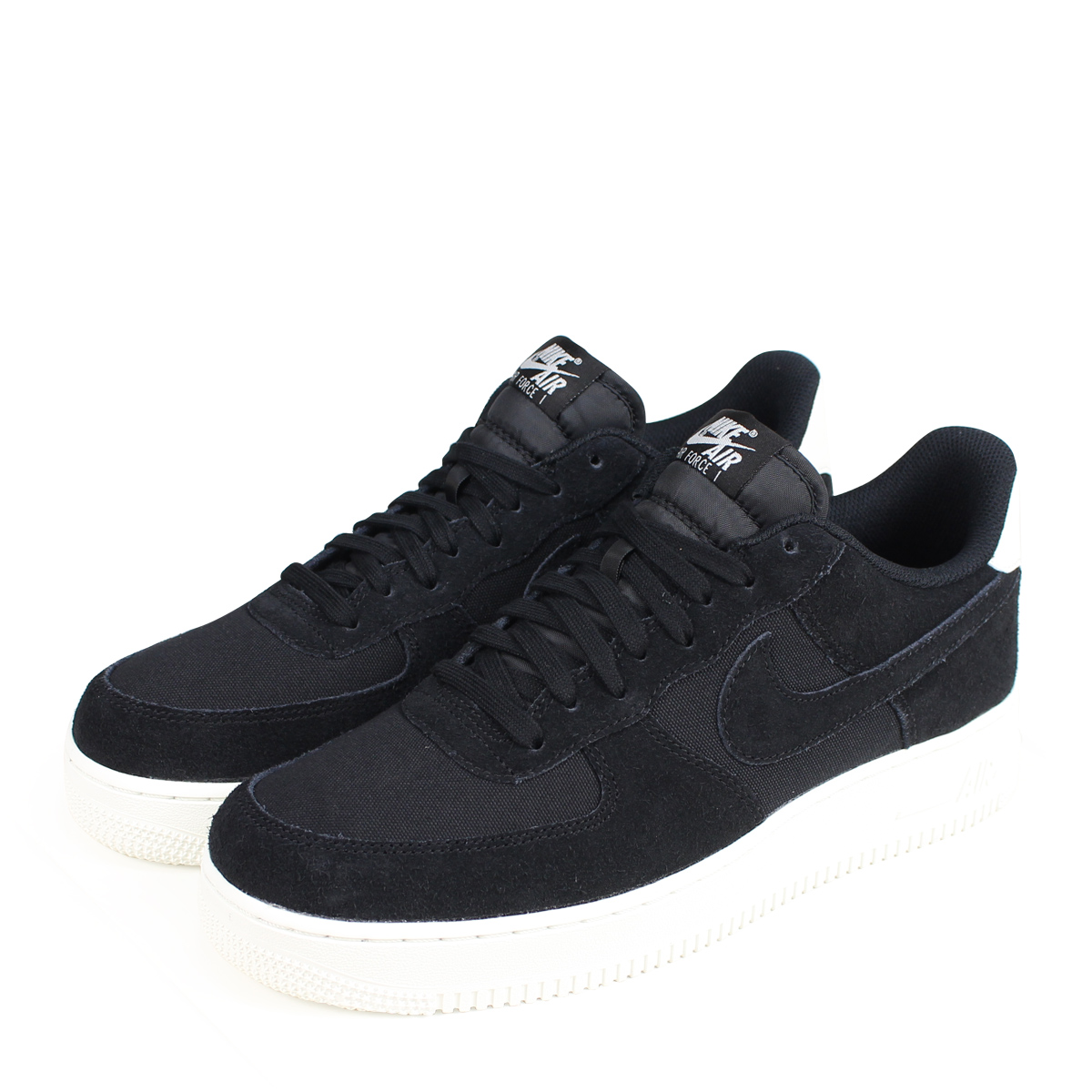 nike air force 07 suede black