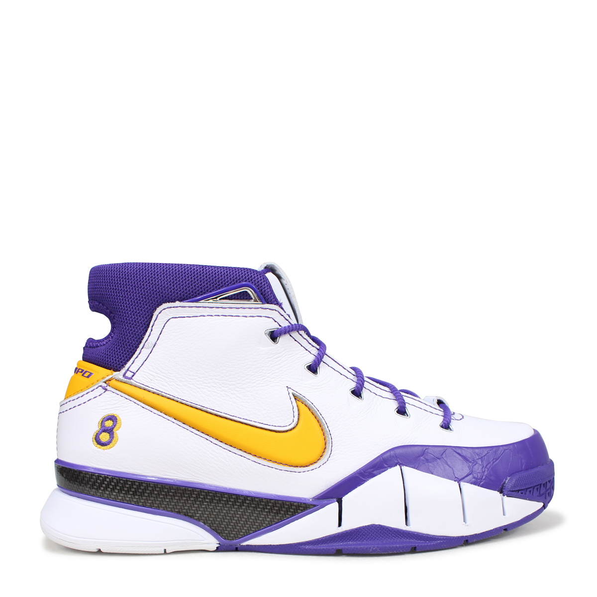 purchase cheap 8de30 a4543 ... switzerland nike zoom kobe 1 protro final seconds nike corby 1 sneakers  men aq2728 101 white