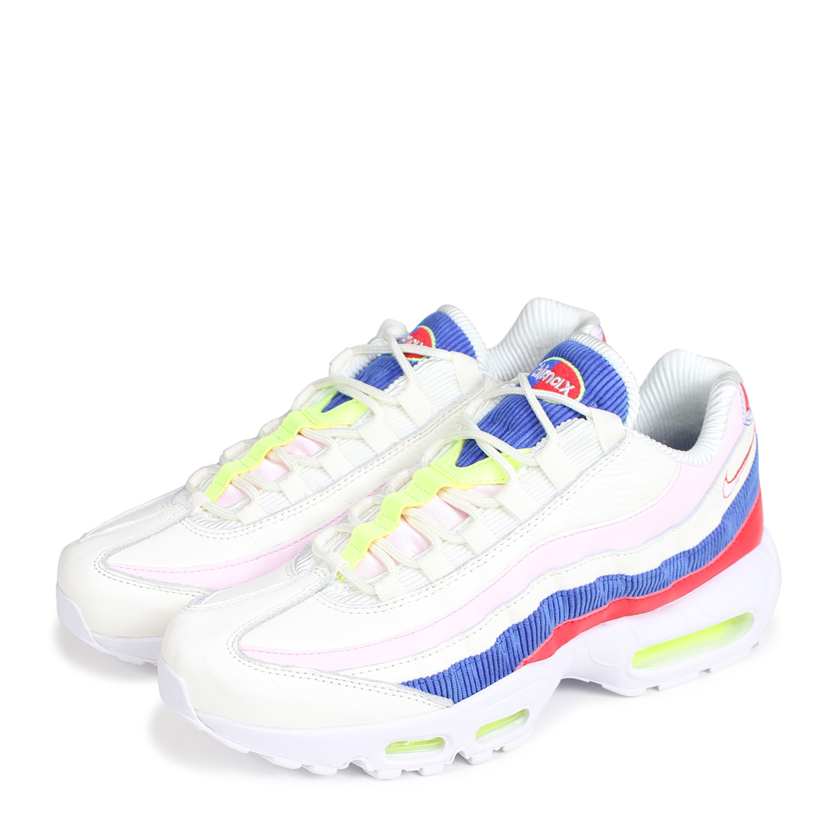 detailed pictures 1030d 3b544 Nike NIKE Air Max 95 sneakers men WMNS AIR MAX 95 SE AQ4138-101 gray [the  7/25 additional arrival] [197]