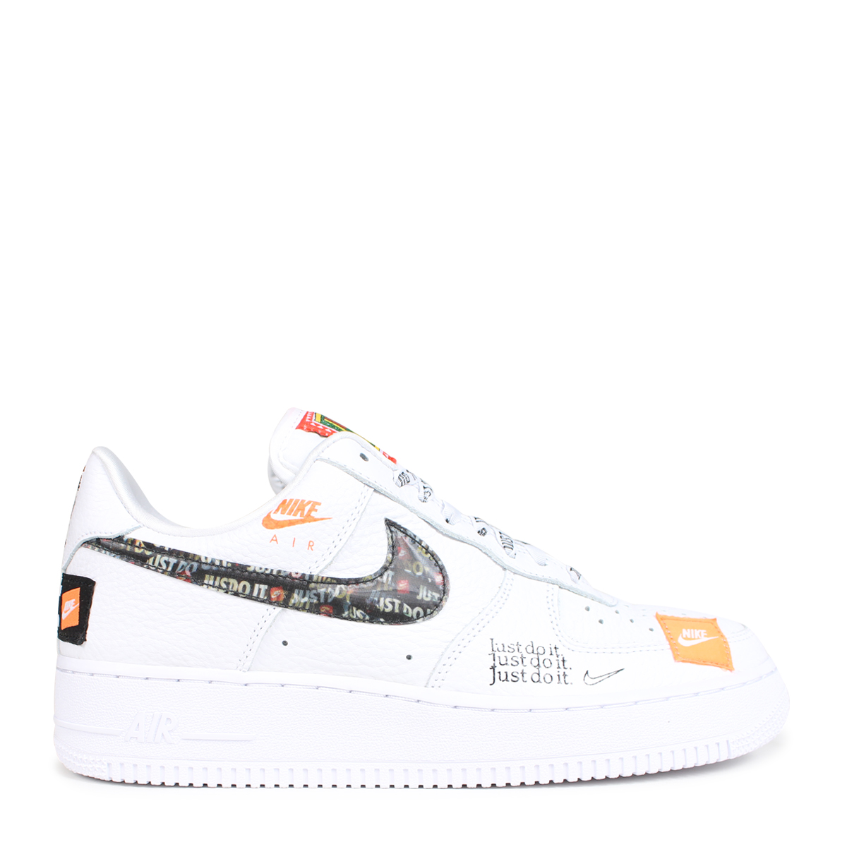 df0eae809d99 NIKE AIR FORCE 1 07 PREMIUM JUST DO IT Nike air force 1 sneakers men AR7719-100  white  load planned Shinnyu load in reservation product 7 27 containing  ...