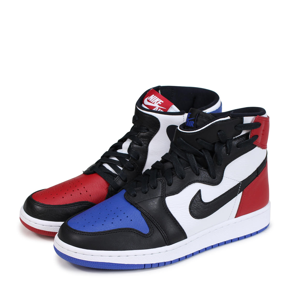 pretty nice 55cec 66f0e NIKE WMNS AIR JORDAN 1 REBEL XX OG Nike Air Jordan 1 nostalgic sneakers  Lady's AT4151-001 black [load planned Shinnyu load in reservation product  6/29 ...