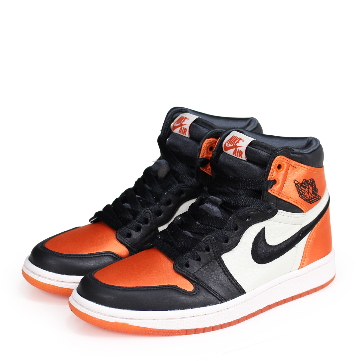 c3d8752eb26 NIKE WMNS AIR JORDAN 1 RETRO HIGH SATIN SHATTERED BACKBOARD Nike Air Jordan  1 nostalgic Haile ...