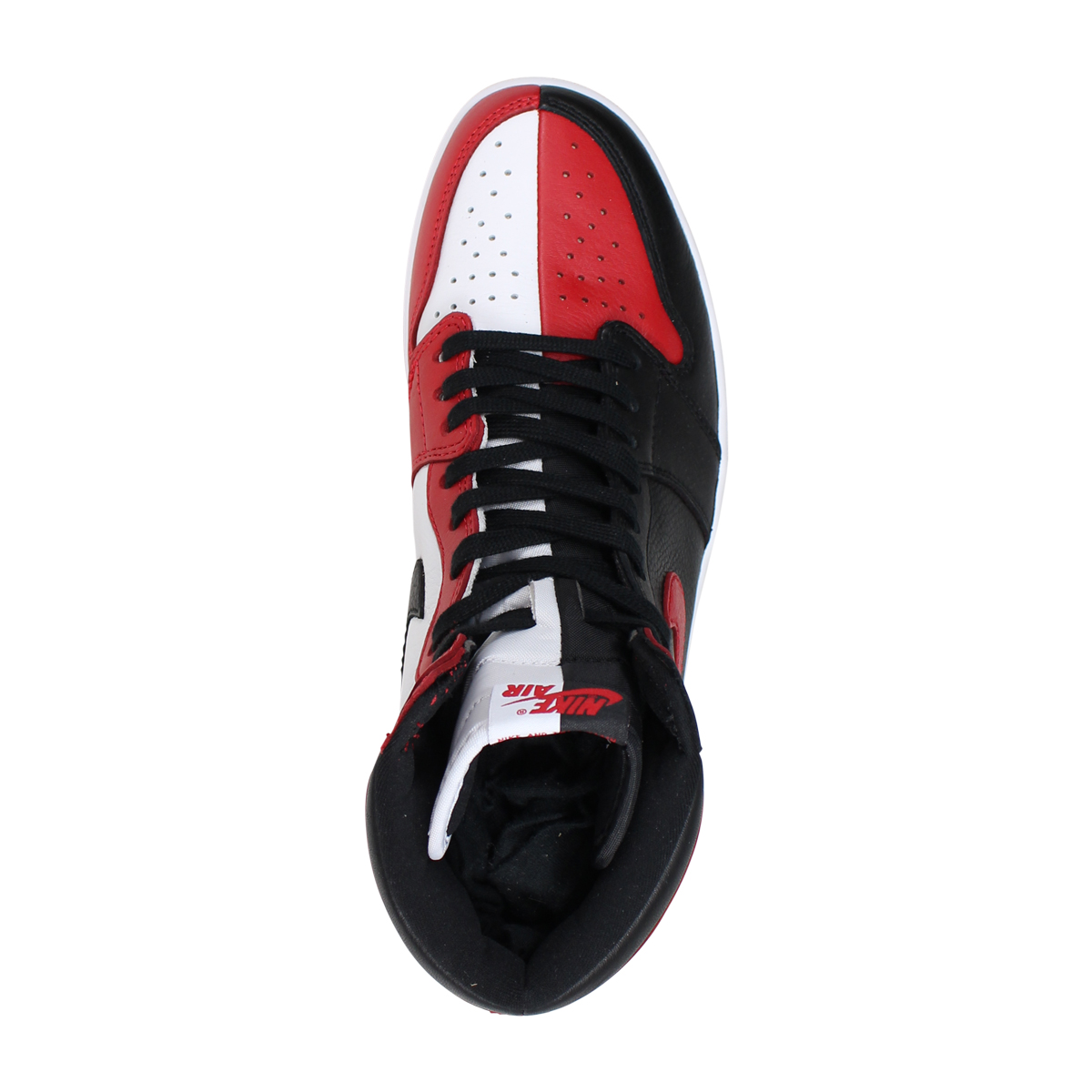 sale retailer 282f0 00cec NIKE AIR JORDAN 1 RETRO HIGH OG HOMAGE TO HOME Nike Air Jordan 1 nostalgic high  men gap Dis sneakers 861,428-061 red  9 6 Shinnyu load   189