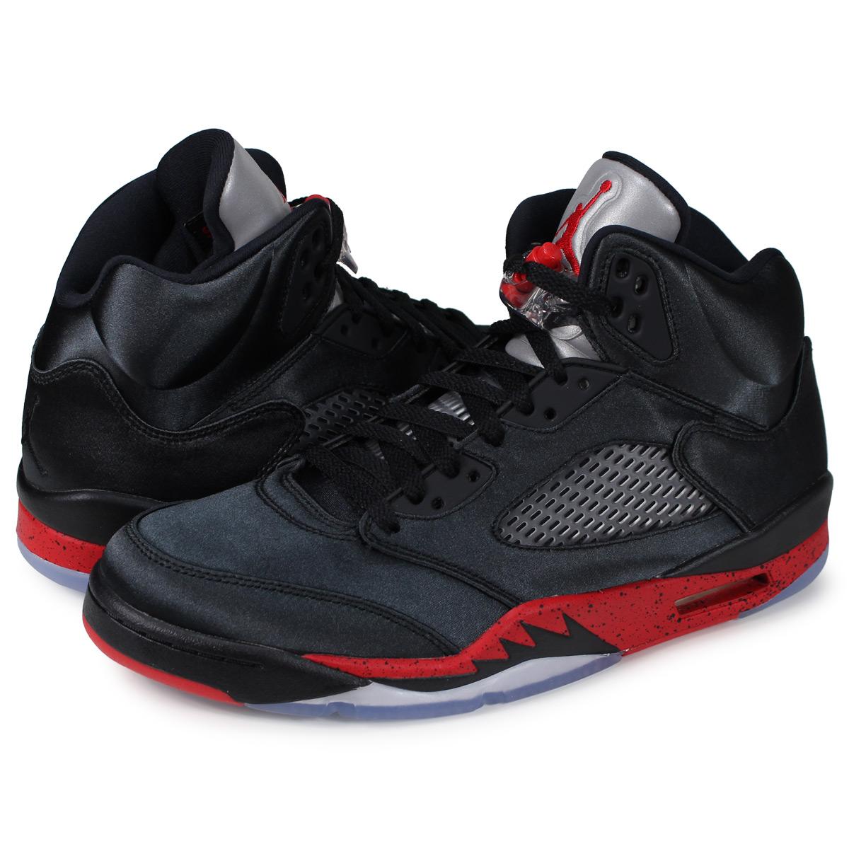 new product 42d9c 2c166 Nike NIKE Air Jordan 5 nostalgic sneakers men AIR JORDAN 5 RETRO black  136,027-006 [1811]