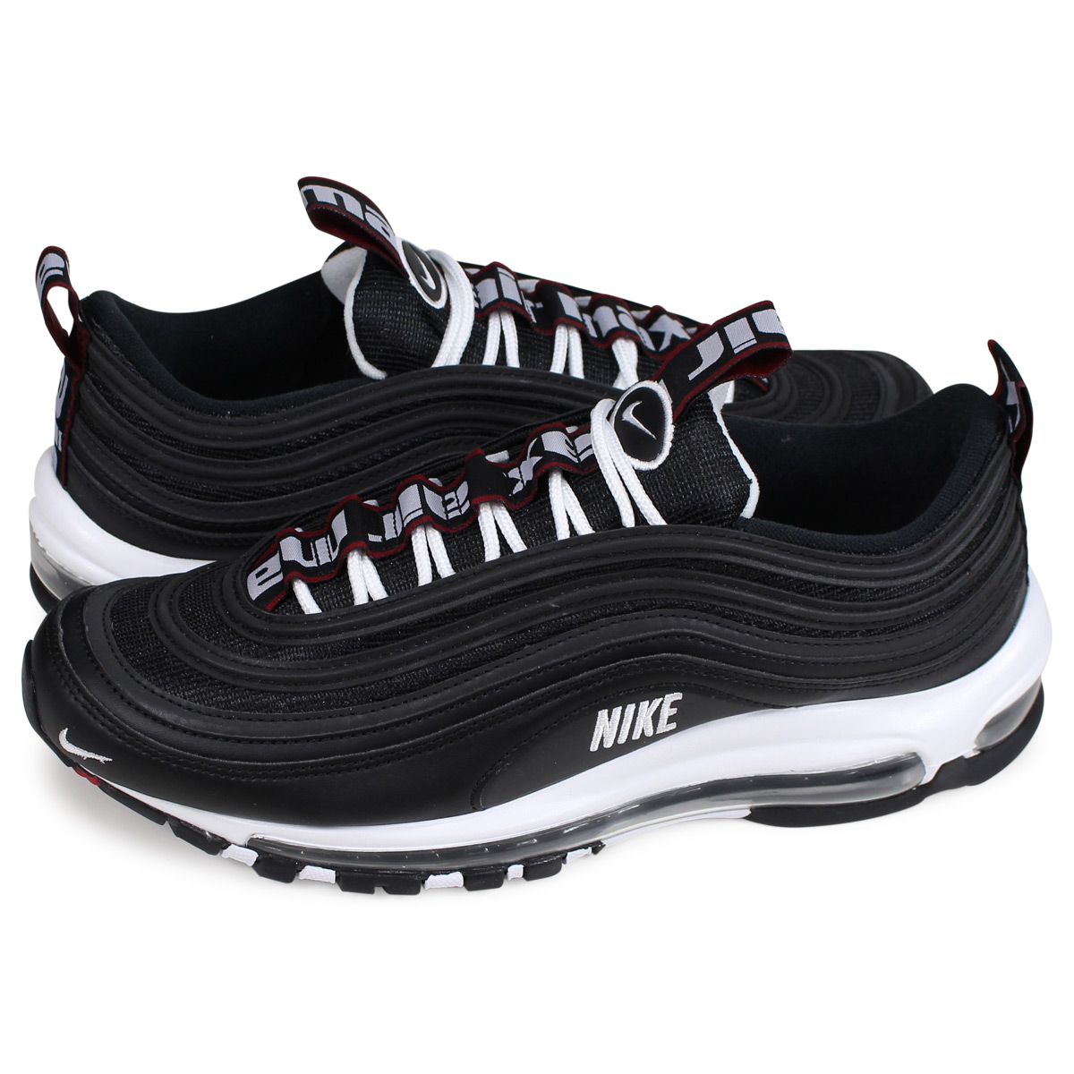 finest selection 26bf0 8c166 Nike NIKE Air Max 97 sneakers men AIR MAX 97 PREMIUM black 312,834-008  [load planned Shinnyu load in reservation product 11/22 containing] [1811]