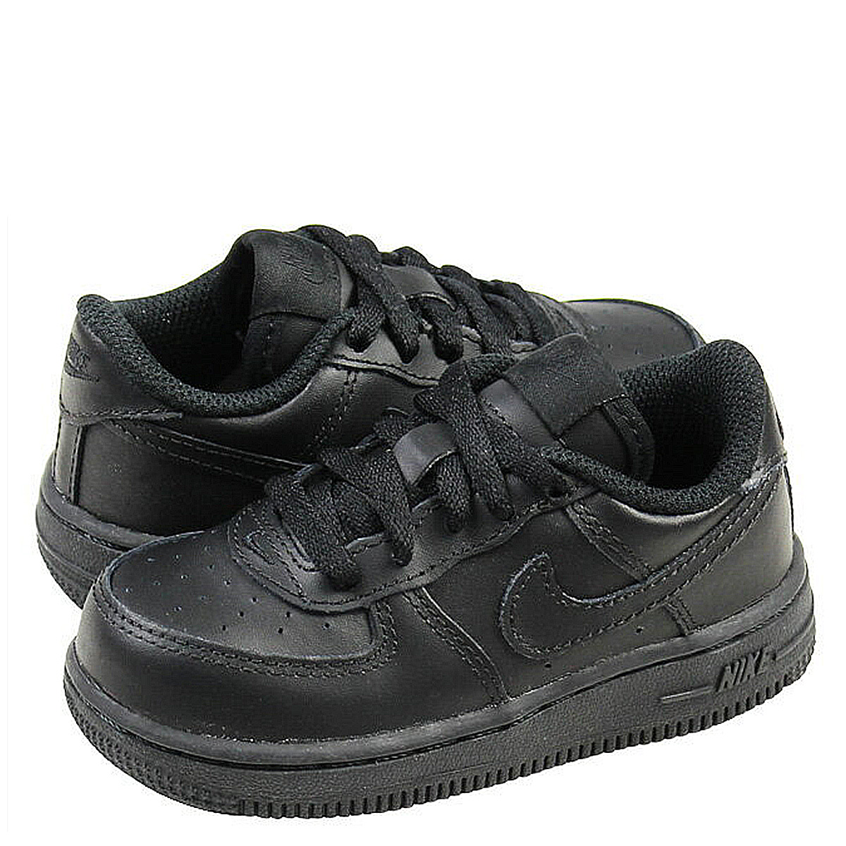 1eaeae9e562c20 Nike NIKE baby kids AIR FORCE 1 LOW TD sneakers air force 1 low toddler  leather junior kids BABY TODDLER 314194-009 black  12   26 new stock    regular  ☆ ...