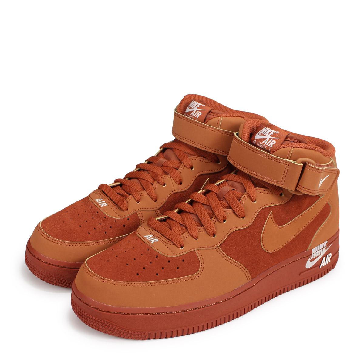 Nike NIKE air force 1 sneakers men AIR FORCE 1 MID 07 315,123 207 brown