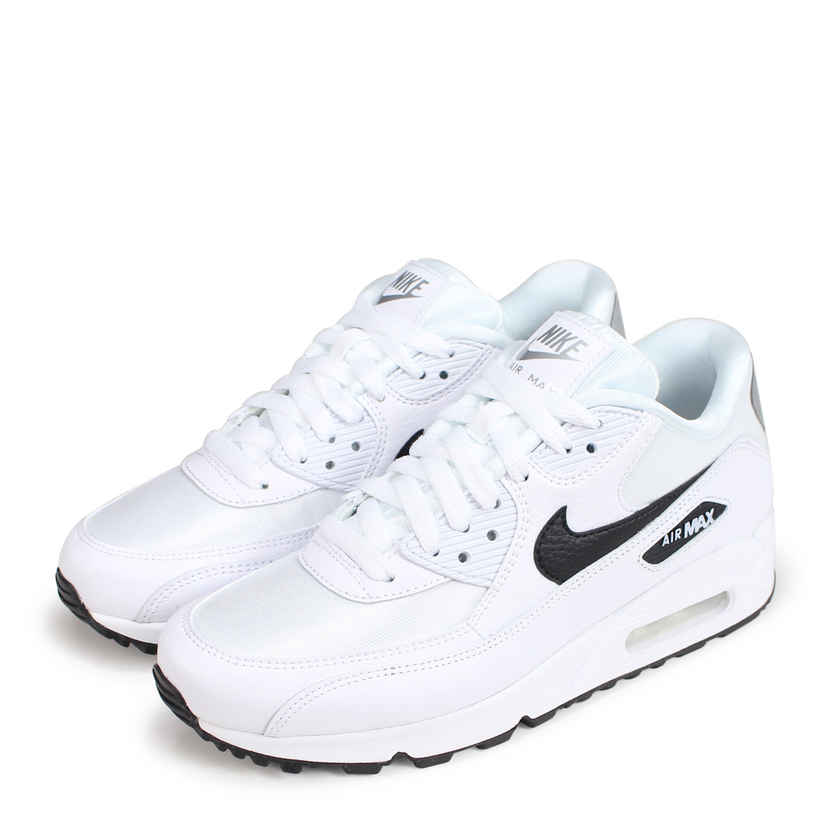 Nike NIKE Air Max 90 lady's men's sneakers WMNS AIR MAX 90 325,213 137 white white