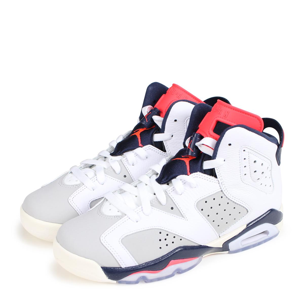 000a7e0ab2b649 NIKE AIR JORDAN 6 RETRO GS Nike Air Jordan 6 nostalgic lady s sneakers  384