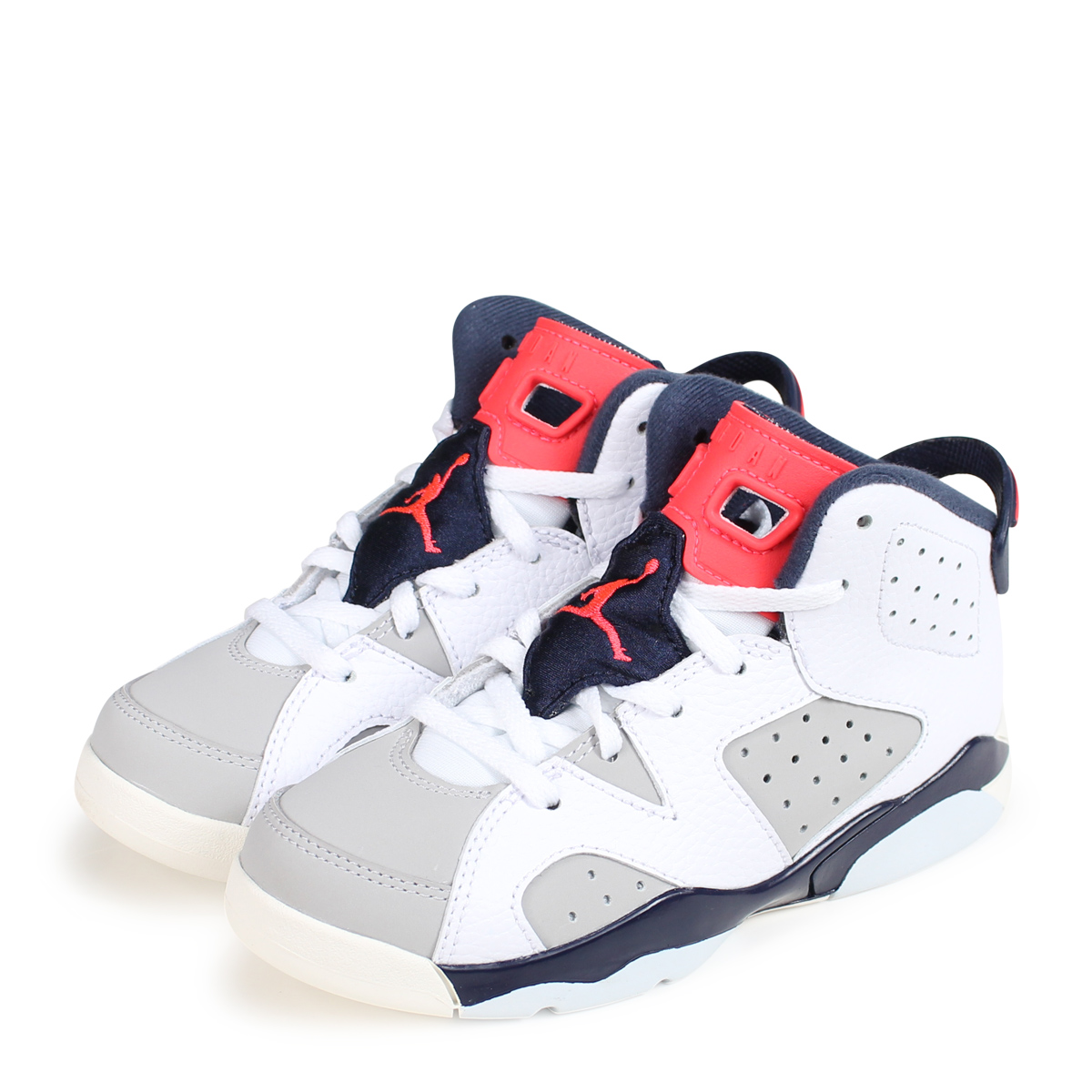 klasyczny styl buty temperamentu sklep NIKE AIR JORDAN 6 RETRO PS TINKER Nike Air Jordan 6 nostalgic kids sneakers  384,666-104 white [load planned Shinnyu load in reservation product 10/22  ...