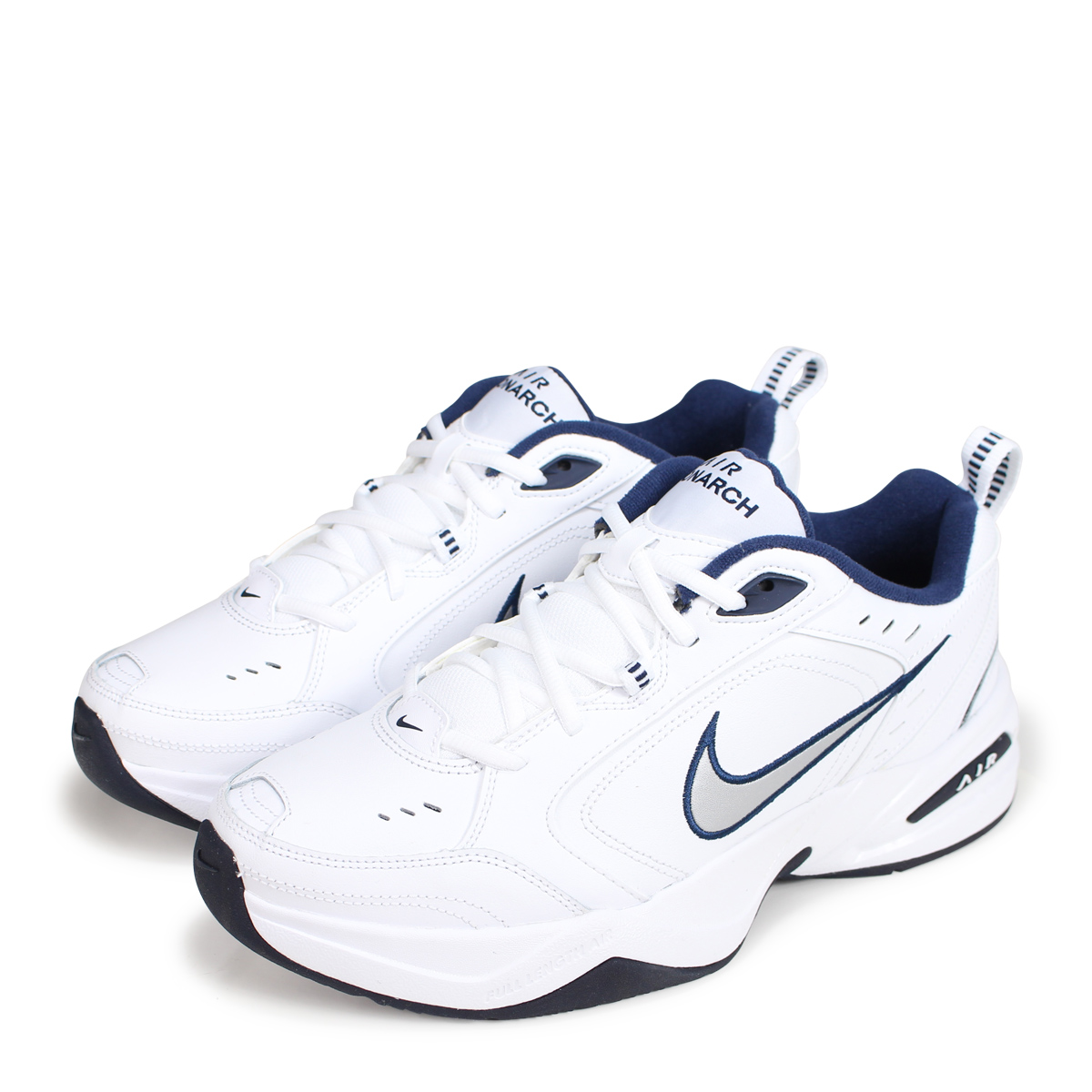 Nike NIKE エアモナーク 4 sneakers men AIR MONARCH IV DAD SHOES ダッドシューズ 415,445 102 white white [193]