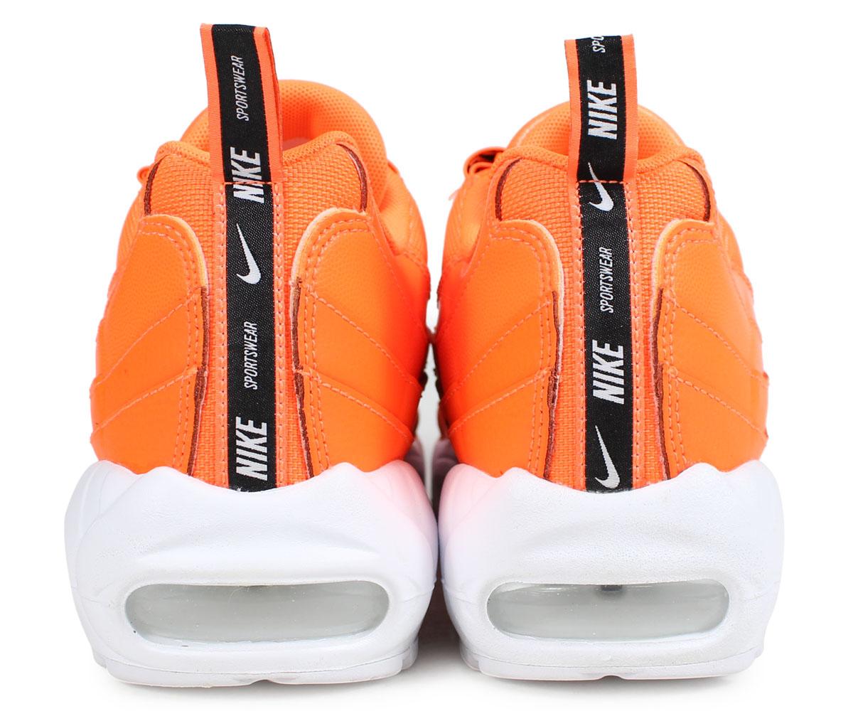 Nike NIKE Air Max 95 sneakers men AIR MAX 95 PREMIUM orange 538,416 801 [195]