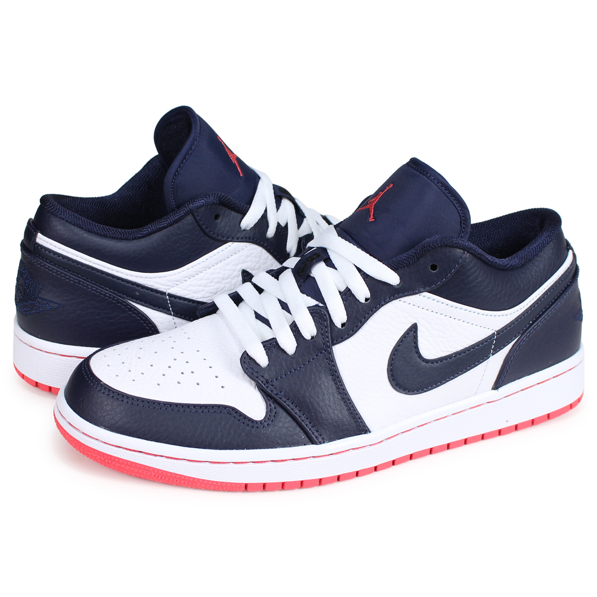 3b22790b2dd7d ALLSPORTS  Nike NIKE Air Jordan 1 sneakers men AIR JORDAN 1 LOW navy ...