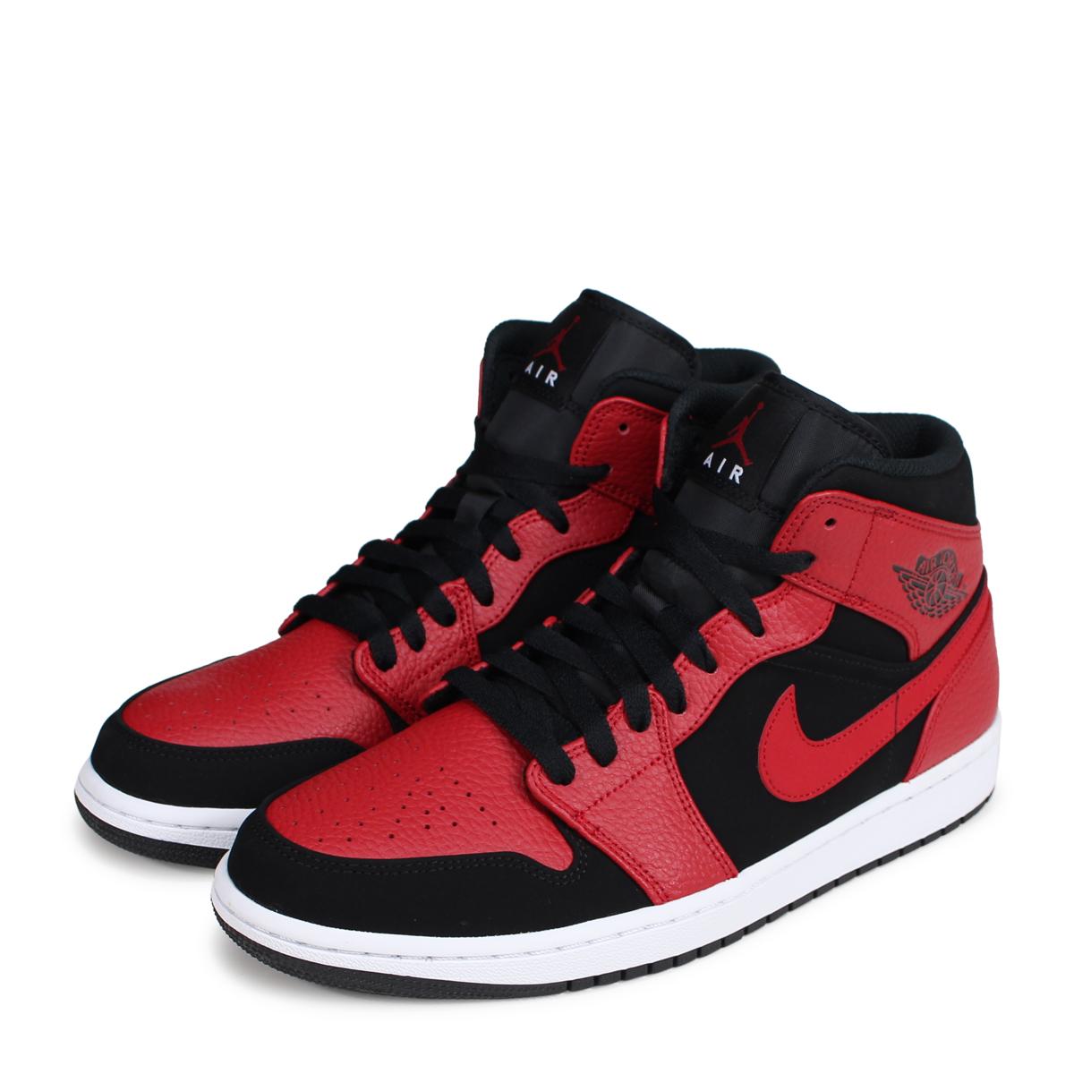 fa08ca54a63 ALLSPORTS  NIKE AIR JORDAN 1 MID Nike Air Jordan 1 sneakers men ...