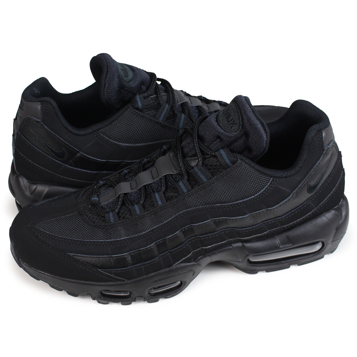 new concept cc303 7f172 Nike NIKE Air Max 95 sneakers men AIR MAX 95 609,048-092 black  the 5 8  additional arrival   194