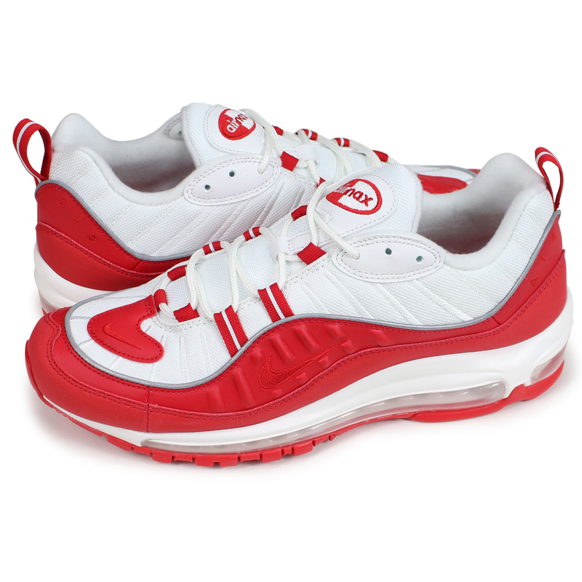 official photos 985f1 5f572 Nike NIKE Air Max 98 sneakers men AIR MAX 98 red 640,744-602 [191]