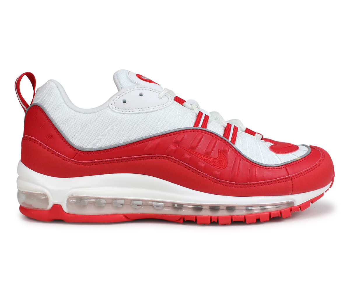 reputable site b50ad 29be2 Nike NIKE Air Max 98 sneakers men AIR MAX 98 red 640,744-602  load planned  Shinnyu load in reservation product 2 6 containing   191