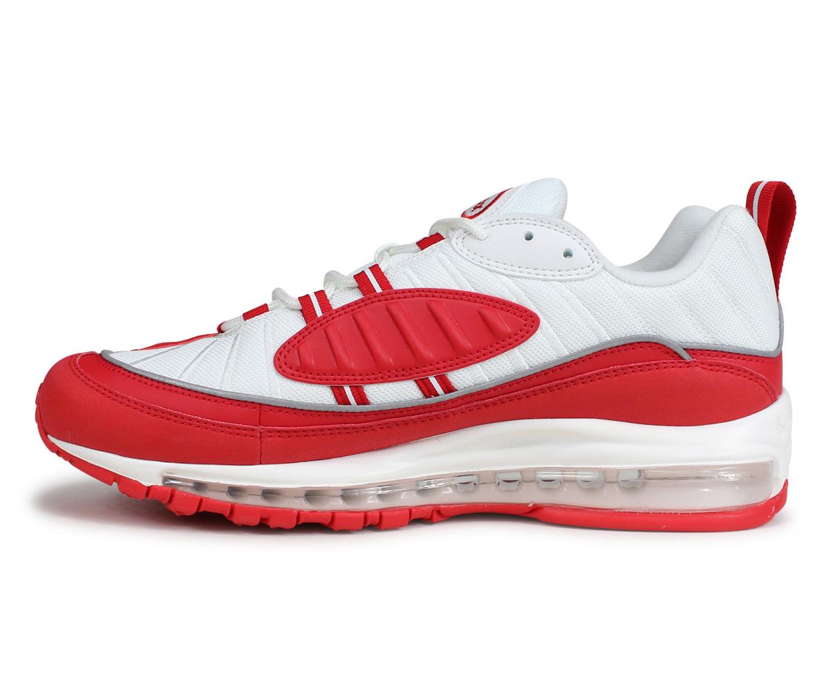 Nike NIKE Air Max 98 sneakers men AIR MAX 98 red 640,744 602 [191]