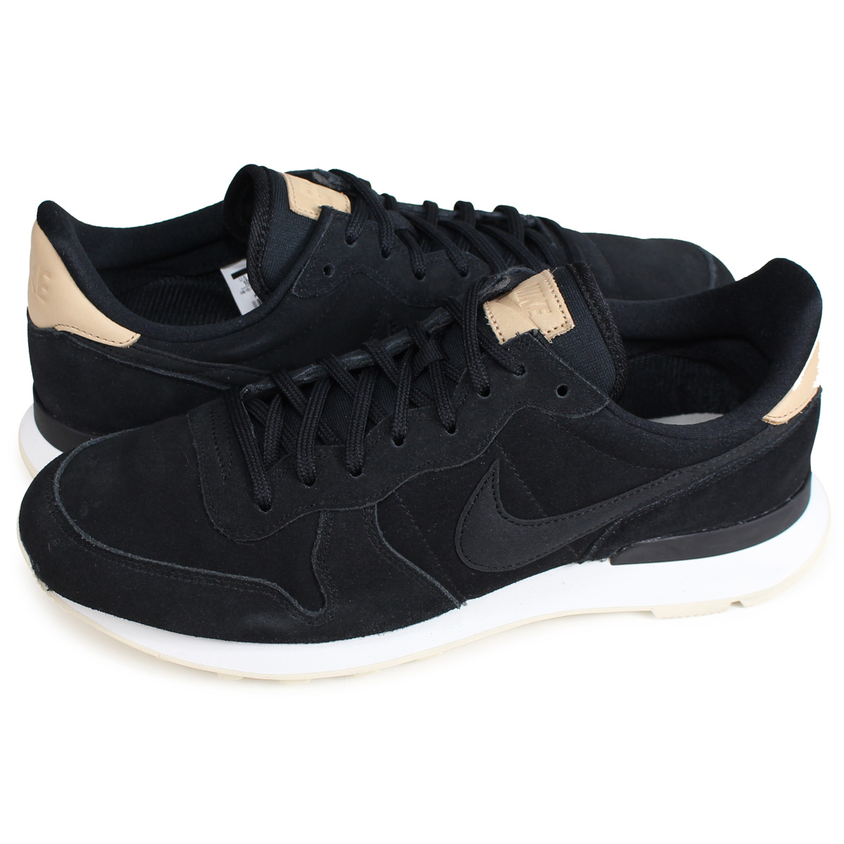 huge selection of fe6e4 7da76 Nike NIKE internationalist sneakers men WMNS INTERNATIONALIST PREMIUM black  828,404-017 load planned Shinnyu load in reservation product 215  containing ...