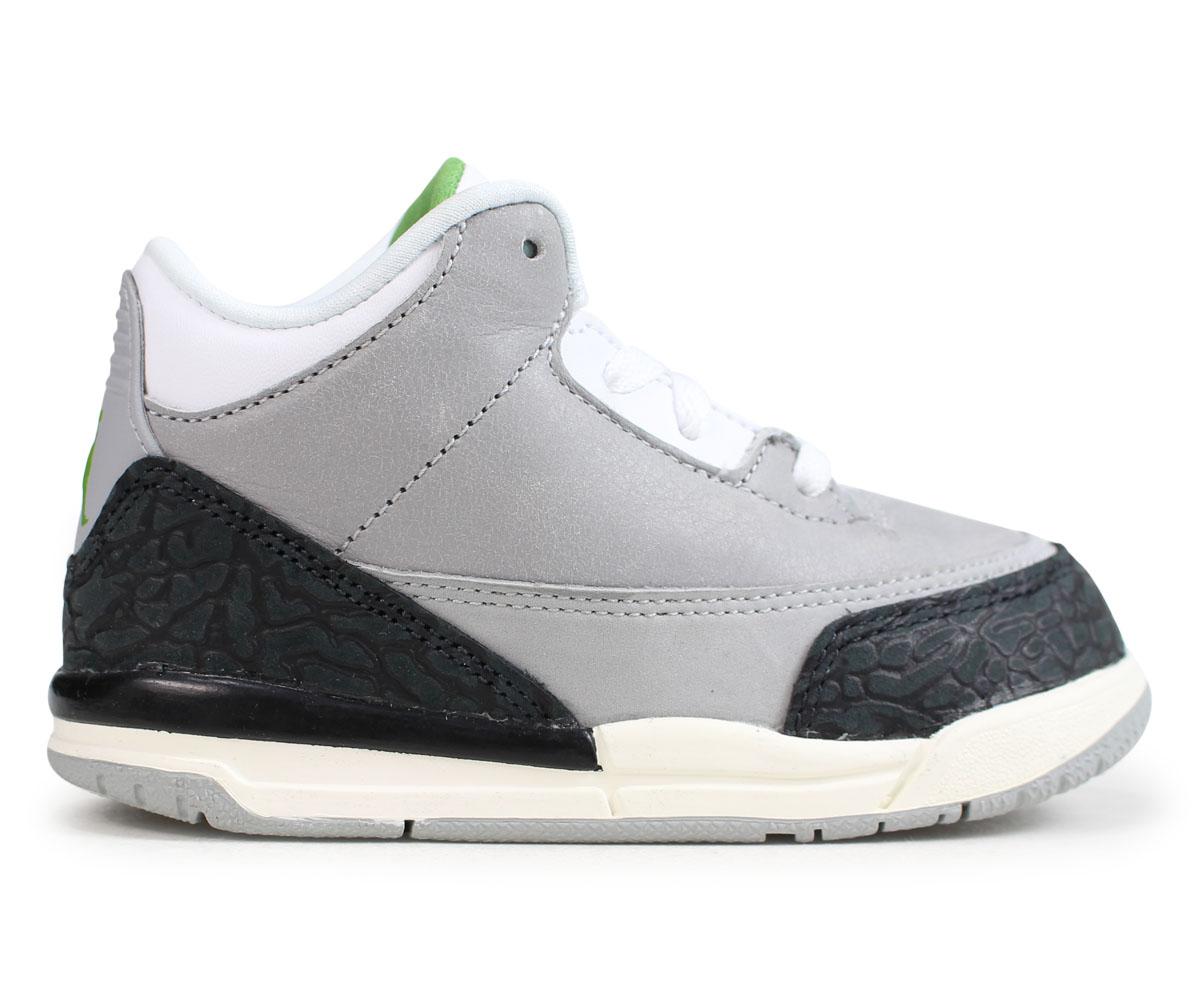 big sale d353e 87849 Nike NIKE Air Jordan 3 nostalgic baby sneakers AIR JORDAN 3 RETRO TD gray  832,033-006 [load planned Shinnyu load in reservation product 11/19 ...