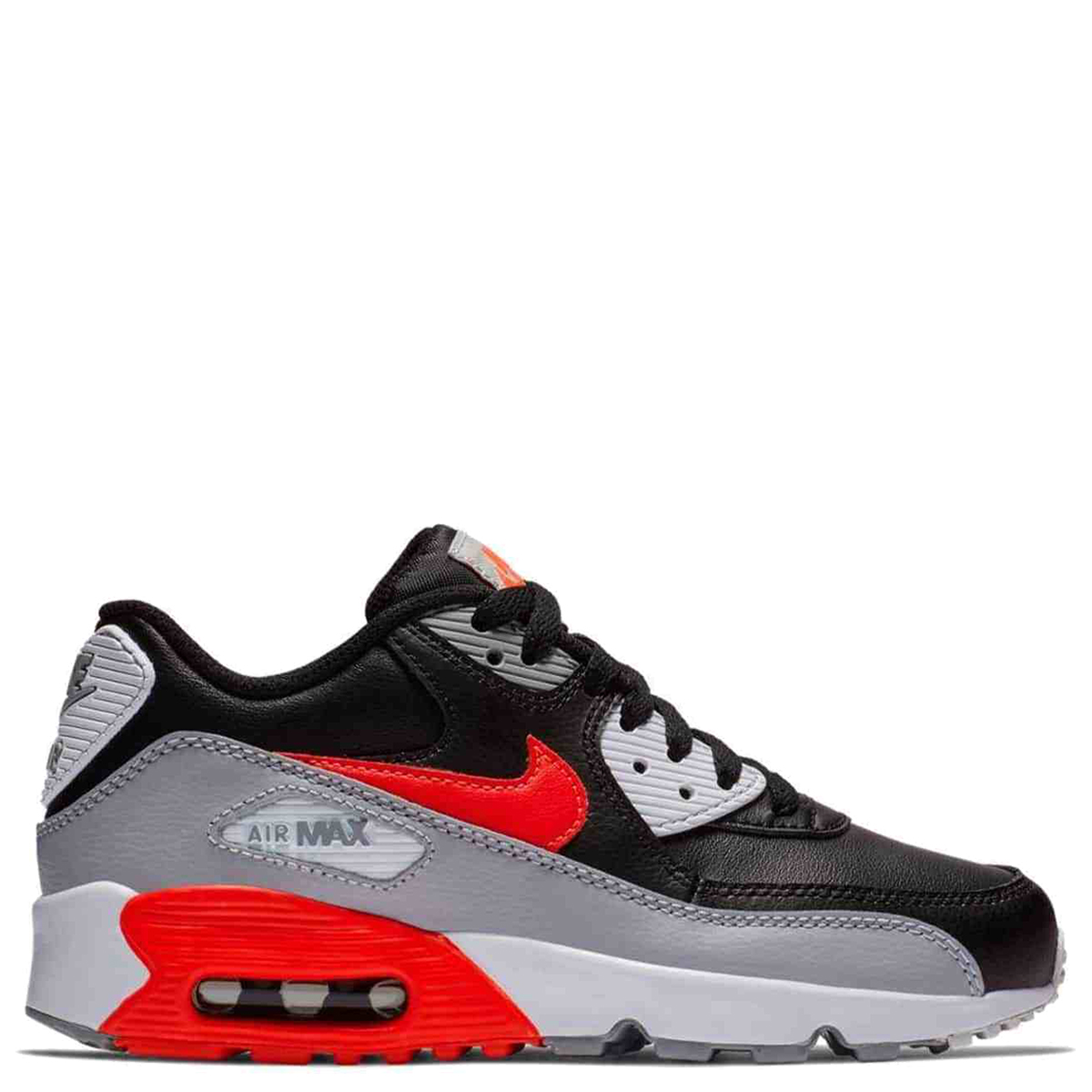 Nike Air Max 90 Leather (GS) Sneakers BlackBlack