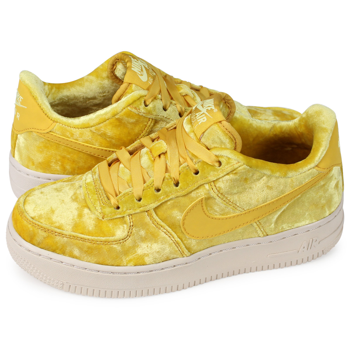 1 Gold Force Sneakers Lady's Nike Lv8 345 Air Gs 849 7001811 QrxBodCeW