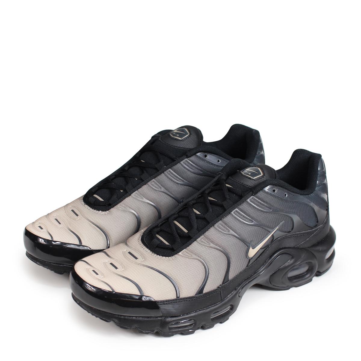 b77a2e68ec NIKE AIR MAX PLUS Kie Ney AMAX plus sneakers men 852,630-026 black [load ...