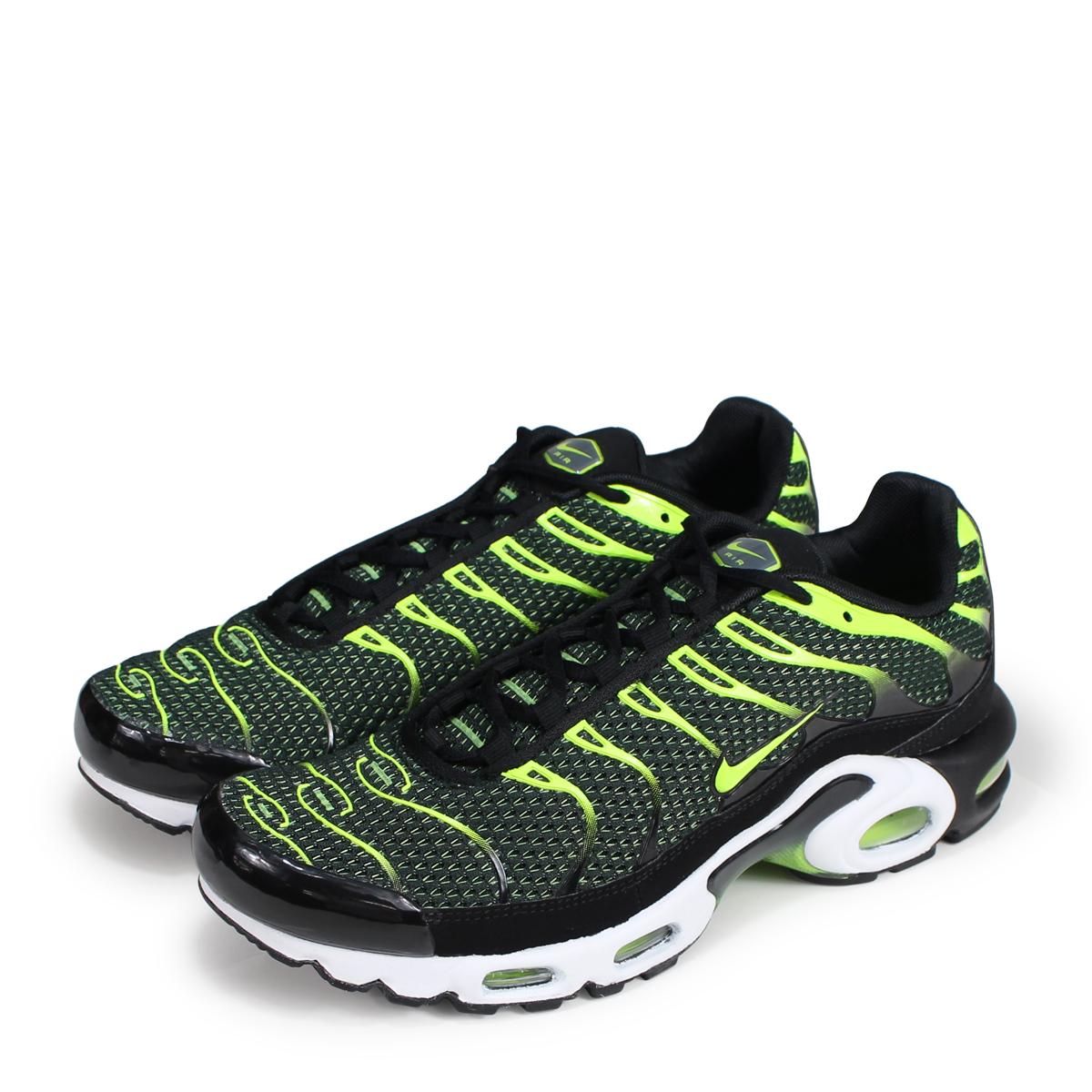 a757891600 NIKE AIR MAX PLUS Kie Ney AMAX plus sneakers men 852,630-036 black  [reservation ...