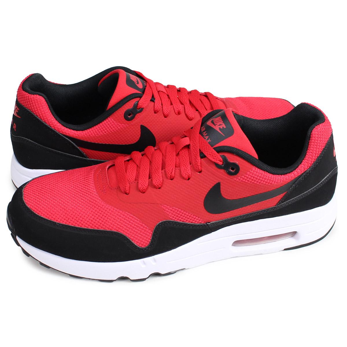 Nike NIKE Air Max 1 essential sneakers men AIR MAX 1 ULTRA 2.0 ESSENTIAL red 875,679 600 [227 Shinnyu load] [192]