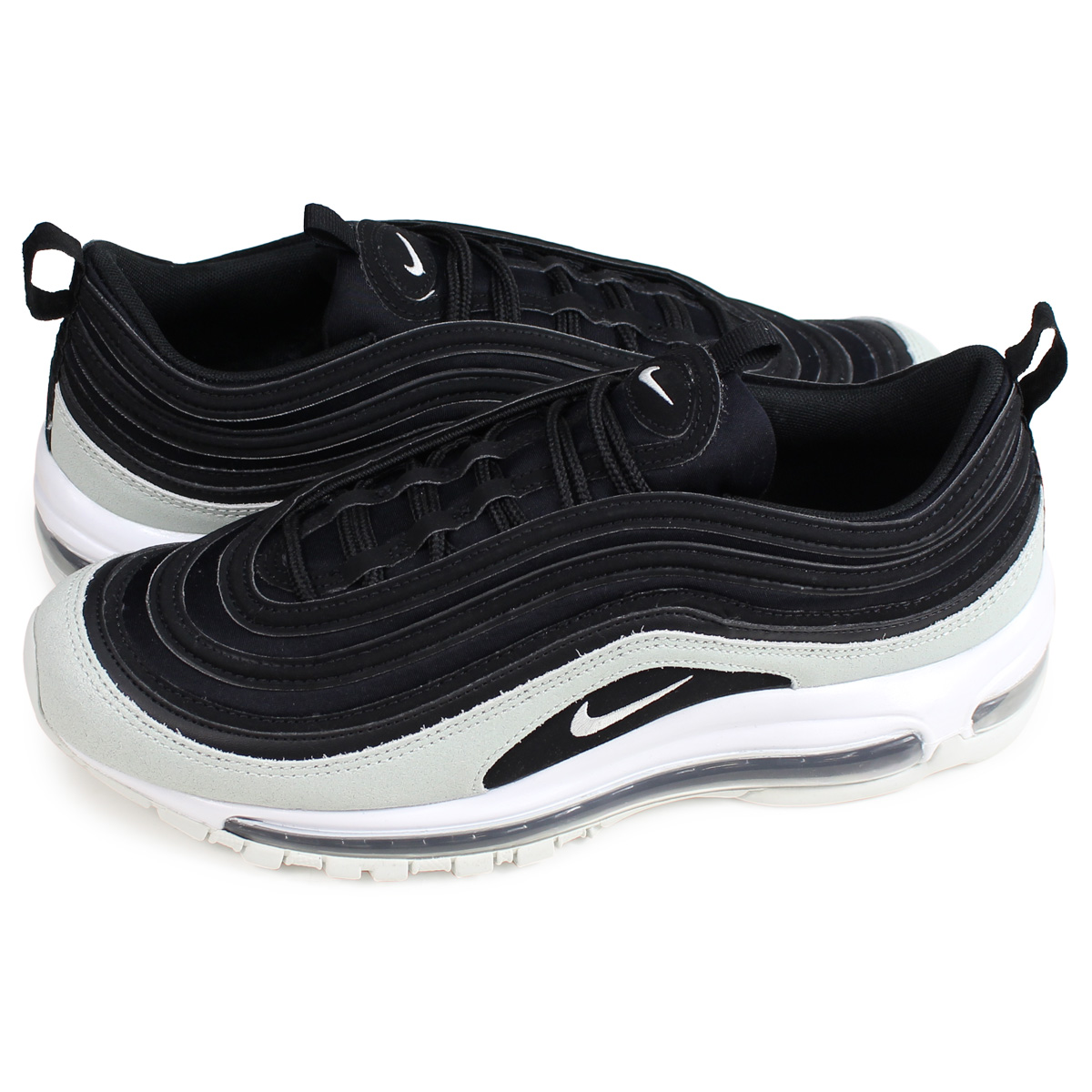 brand new 910c4 fcee1 Nike NIKE Air Max 97 sneakers Lady s men WMNS AIR MAX 97 PREMIUM black  917,646-007  load planned Shinnyu load in reservation product 2 14  containing   191