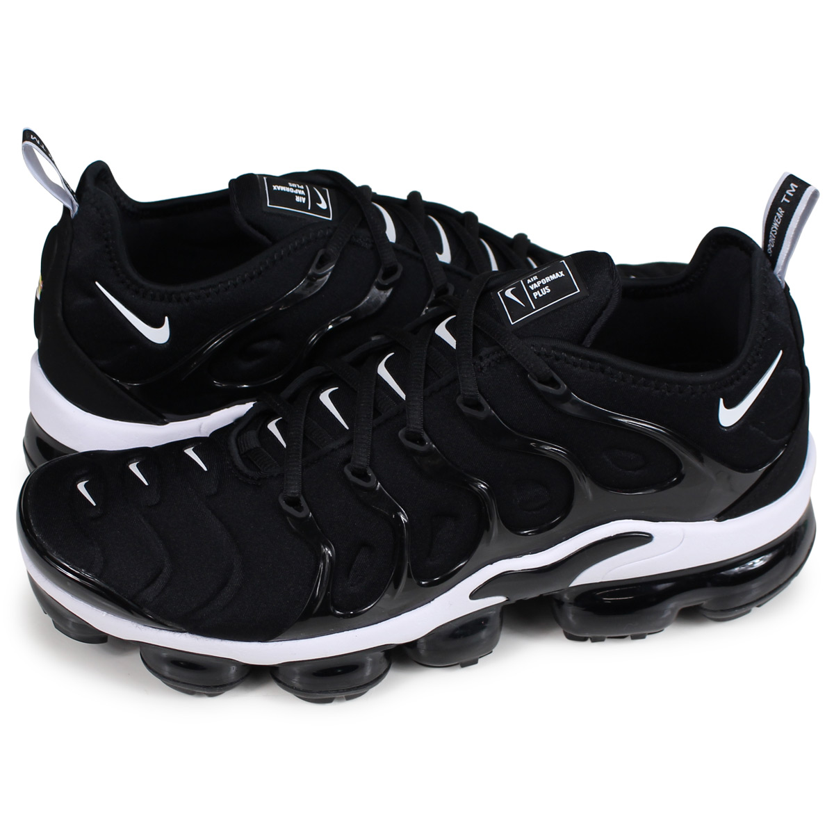 timeless design b2278 0de01 Nike NIKE air vapor max plus sneakers men AIR VAPORMAX PLUS black  924,453-011 [11/22 Shinnyu load] [1811]