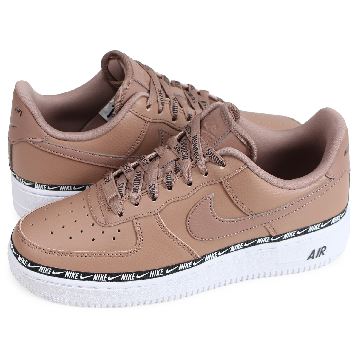 Force 07 Brown1210 Shinnyu Premium Nike Air 1 Lady's Sneakers Ah6827 201 Load1811 Se Men's Wmns 8OPwkn0