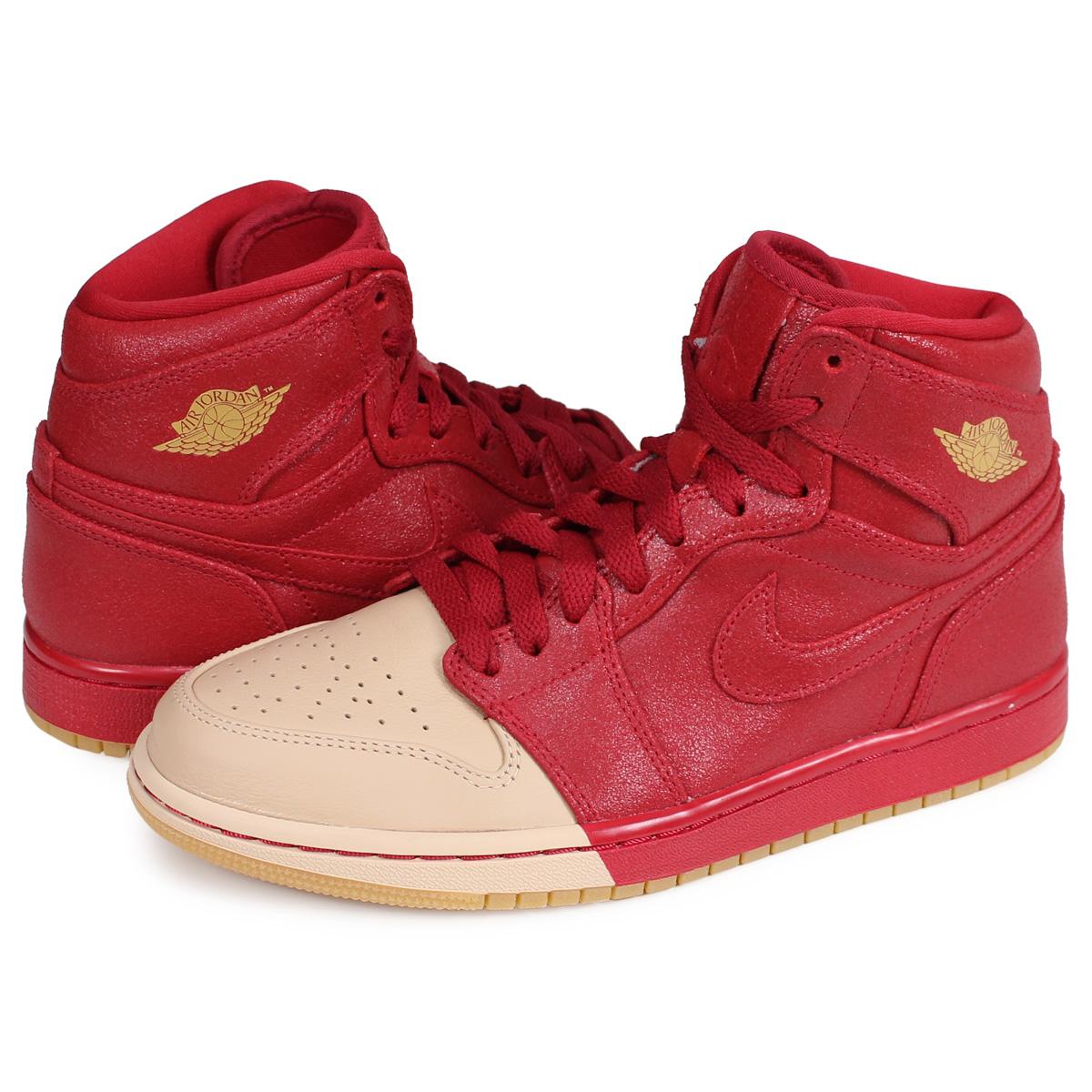 a65cf7214e2 ALLSPORTS  Nike NIKE Air Jordan 1 nostalgic high sneakers Lady s WMNS AIR  JORDAN 1 RETRO HIGH red AH7389-607  2 21 Shinnyu load   192