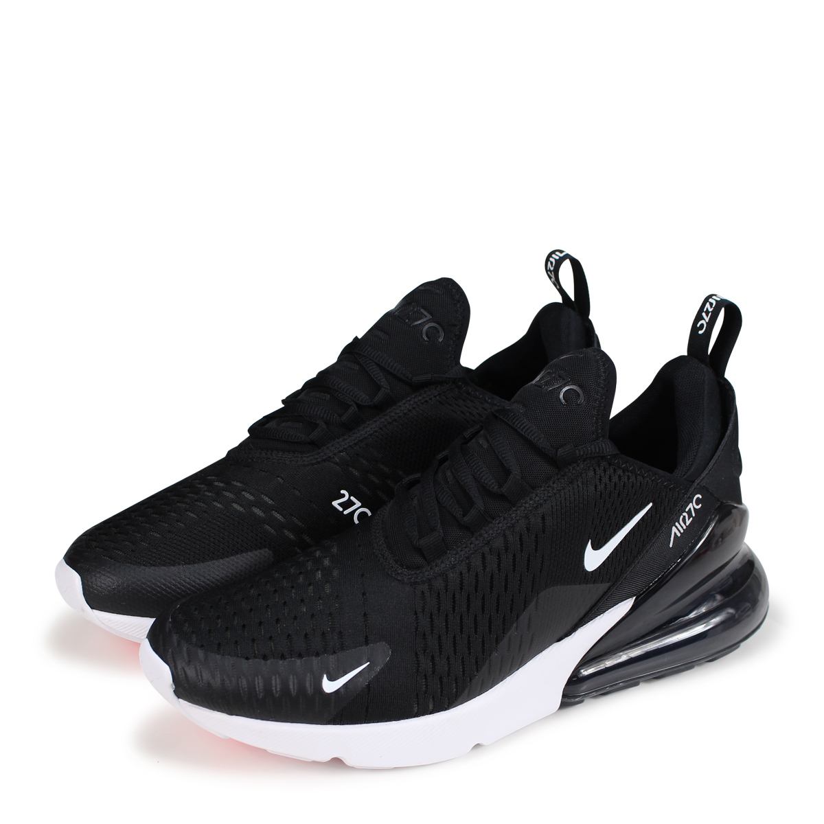 best website f7ff9 ae8af Nike NIKE Air Max 270 sneakers men AIR MAX 270 AH8050-002 black [the 8/16  additional arrival] [198]