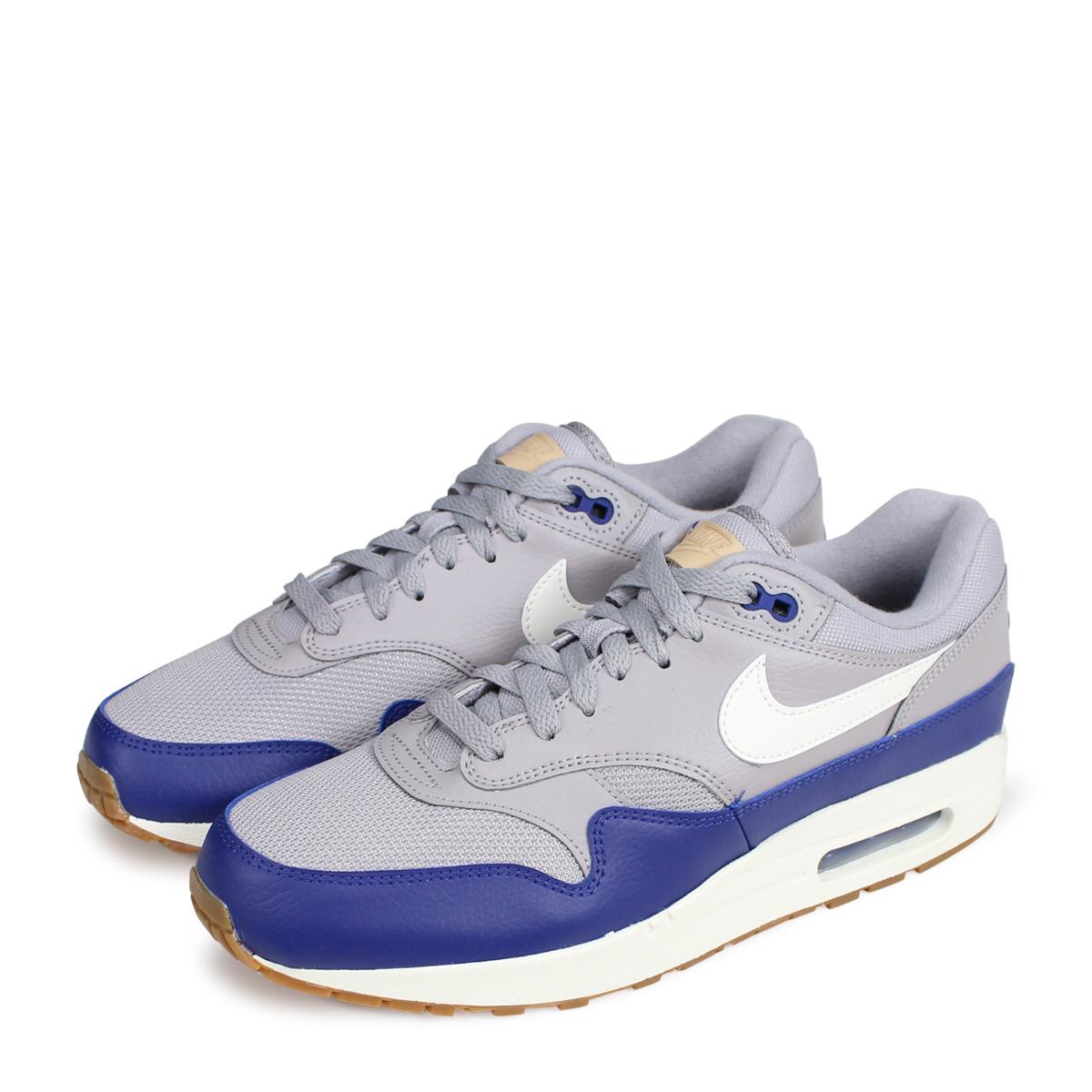 NIKE AIR MAX 1 Kie Ney AMAX 1 sneakers men AH8145 008 gray [925 Shinnyu load] [1810]