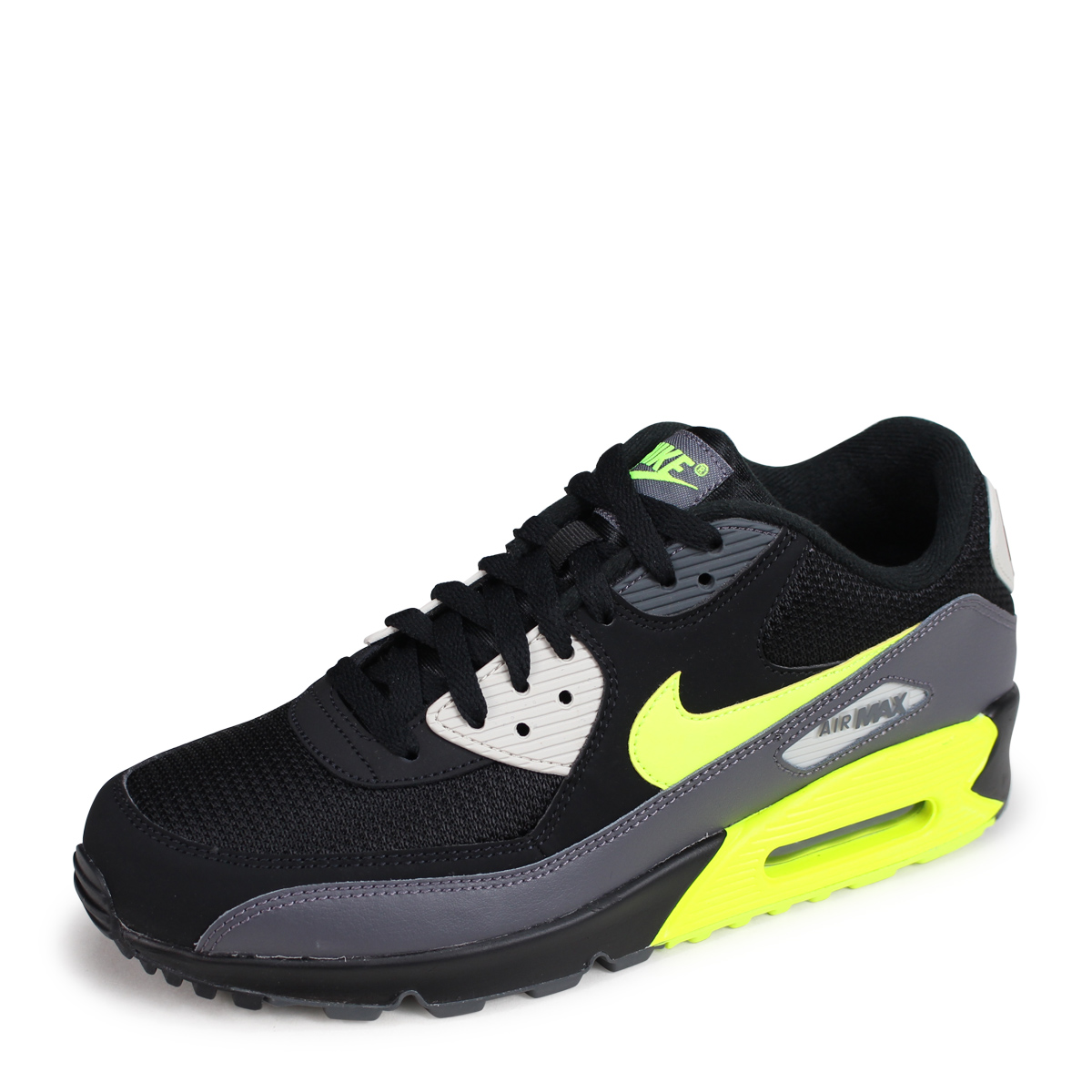 cheap for discount 52c41 c594d Nike NIKE Air Max 90 essential sneakers men AIR MAX 90 ESSENTIAL AJ1285-015  black [195]