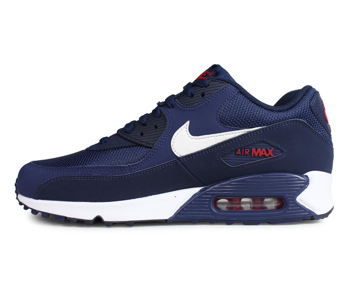 b398a09e2 ... Nike NIKE Air Max 90 essential sneakers men AIR MAX 90 ESSENTIAL navy  AJ1285-403 ...