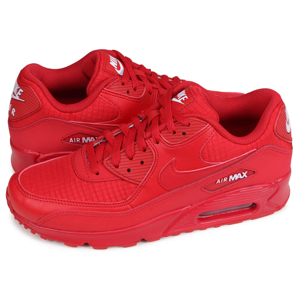 Nike NIKE Air Max 90 essential sneakers men gap Dis AIR MAX 90 ESSENTIAL red red AJ1285 602 [197]