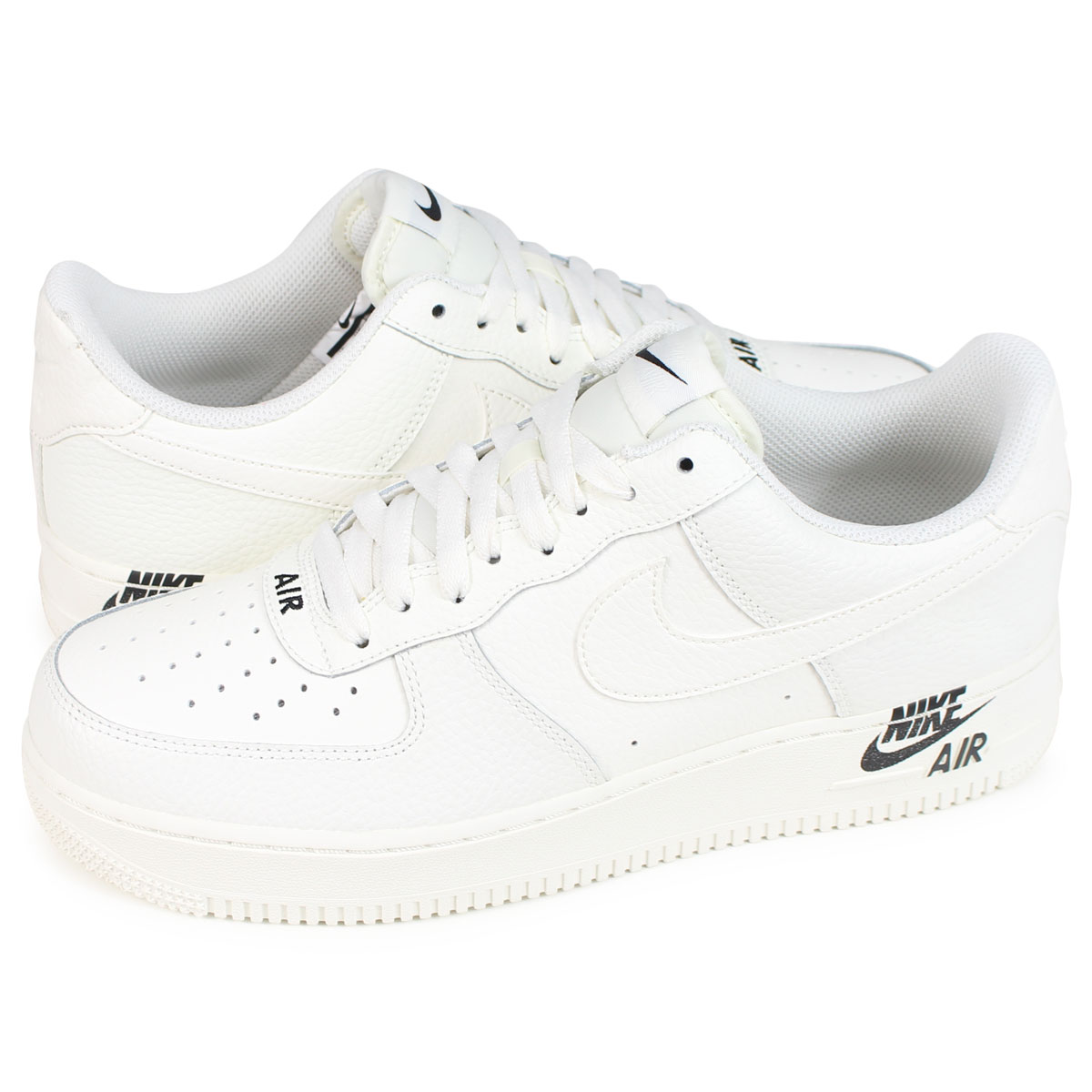Nike NIKE air force 1 sneakers men AIR FORCE 1 07 LEATHER AJ7280 102 white