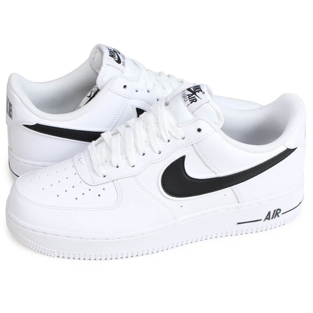 Nike NIKE air force 1 men's sneakers AIR FORCE 1 07 3 white white AO2423 101 [194]