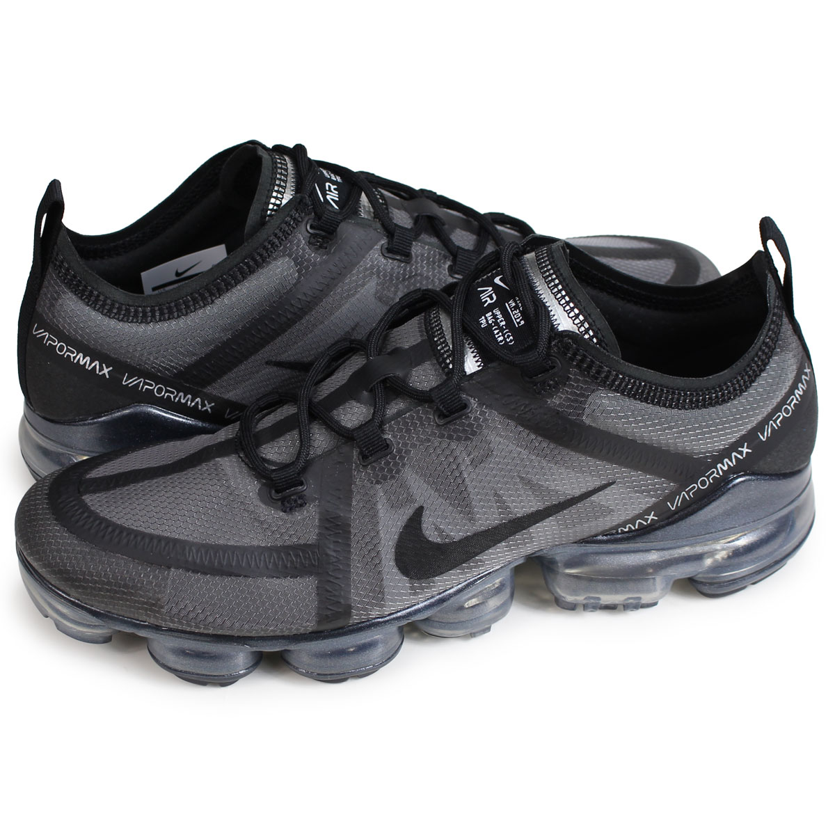 c737fafc1c Nike NIKE air vapor max 2019 sneakers men AIR VAPORMAX 2019 black  AR6631-004 [load planned Shinnyu load in reservation product 1/30  containing] [191]
