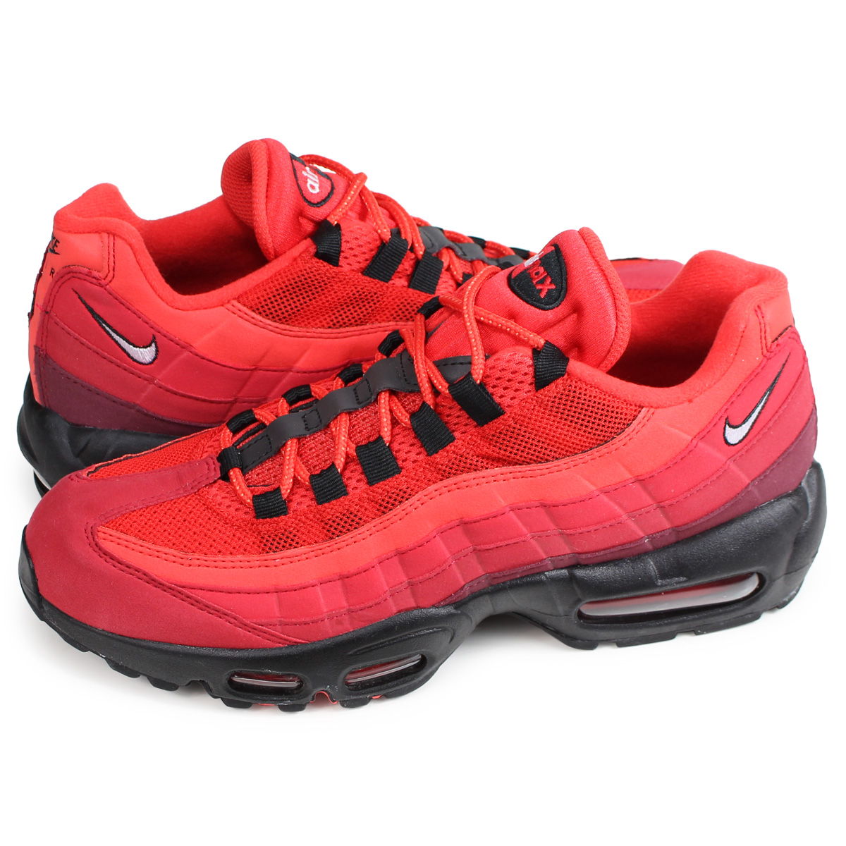 Nike NIKE Air Max 95 sneakers men gap Dis AIR MAX 95 OG red red AT2865 600 [load planned reentry load in reservation product 110 containing]