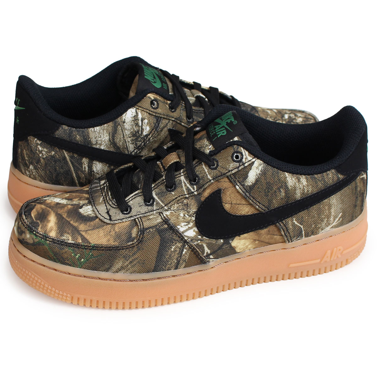 Nike NIKE air force 1 sneakers Lady s AIR FORCE 1 LV8 3 GS Realtree  collaboration duck AV0749-001  load planned Shinnyu load in reservation  product 1 30 ... 163fba35c
